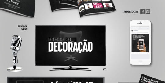 Campanha Black Week Decor 2016